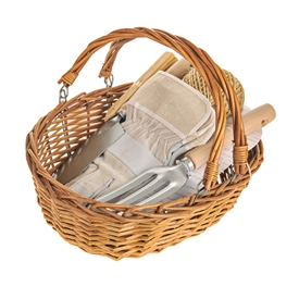 Basket Garden Tools Gift Set