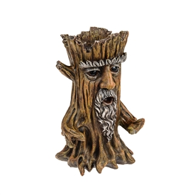 DUE JAN Enchanted Tree Stump Planter