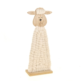 Easter Fuzzy Sheep Decoration 30cm