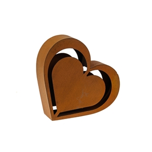 Rustic Heart Decoration 25cm
