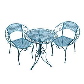 Coastal Blue Table And Chair Set