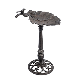 Cast Iron Leaf Bird Feeder 60cm