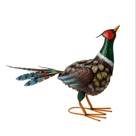 DUE JAN Garden Metal Pheasant