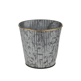 DUE JAN Farrah Zinc Pot 13cm
