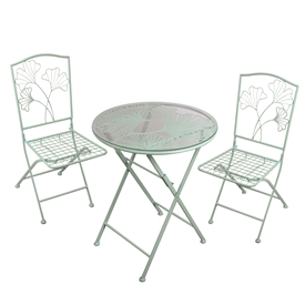 DUE JAN Ginkgo Leaf Table And Chair Set