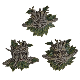 DUE JAN Enchanted Spirit Hear/See/Speak No Evil 3 Assorted SOLD IN 3's 26cm