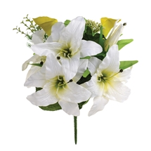 Casablanca Lily Bush Cream 43cm