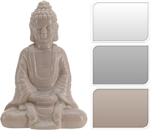 24cm Sitting Buddha 3 Assorted