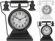 Vintage Phone Table Clock