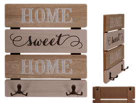 Wooden Key Board Home Sweet Home