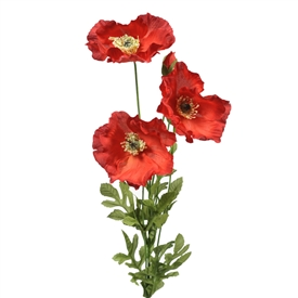 Poppy Bunch 74cm
