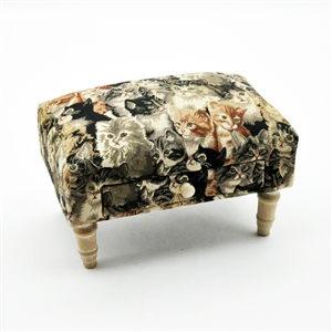 Cat Footstool With Draw
