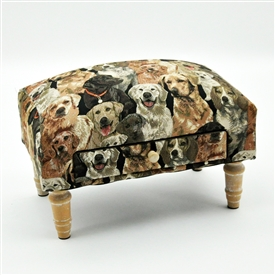 Dog Footstool With Draw