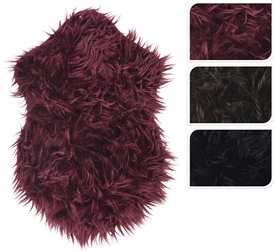 Sheepskin Rug 3 Assorted 55cm