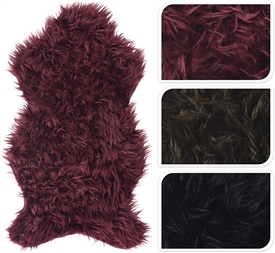 Sheepskin Rug 3 Assorted 90cm
