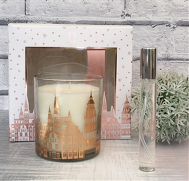 Candle And Room Spray Gift Set Rose Gold
