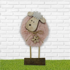 Plush Sheep Decoration  21cm