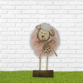Plush Sheep Decoration 17cm