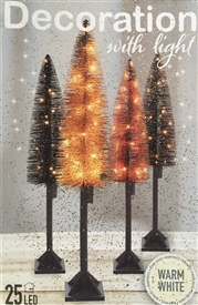 LED Gold Glitter Christmas Tree