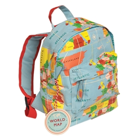 World Map Mini Backpack 28cm
