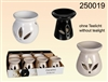 Ceramic Oil Burner 3 Assorted 8cm