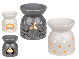 Ceramic Oil Burner 2 Assorted 11cm
