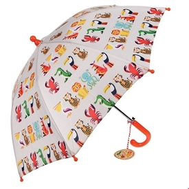 Colourful Creatures Childrens Umbrella