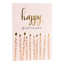 Birthday Candles Card