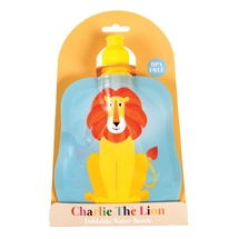 Charlie The Lion Folding Water Bottle