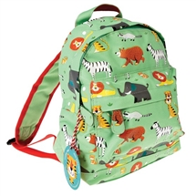 Green Animals Mini Backpack 27cm