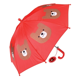 Bruno The Bear Childrens Umbrella 62cm