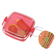 Fast Food Mini Eraser Set 8cm