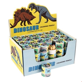 Dinosaur Colouring Pencils SOLD IN 24's