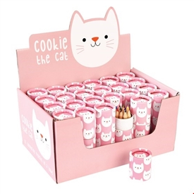 Cookie The Cat Colouring Pencils SOLD IN 24's