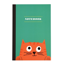 Chester The Cat Notebook A5