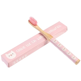 Cookie The Cat Bamboo Tooth Brush