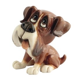 Little Paws Boo The Boxer 12cm