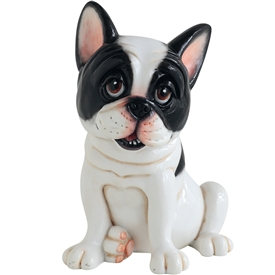 Little Paws Claude The French Bulldog 17cm