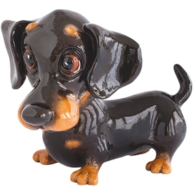 Little Paws Frankie The Dachshund 13cm