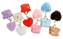 Purse Keyring 6 Assorted