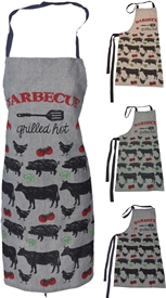 Farmyard Animal Apron  3 Assorted 84cm