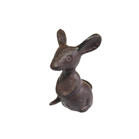 Cast Iron Sitting Mouse