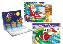 Santas Toy Shop Pop Up Book 26cm