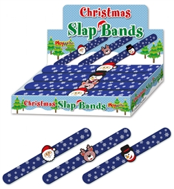 Festive Snap Bands 3 Assorted