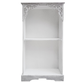 Wooden Wall Unit 2 Shelf   58cm