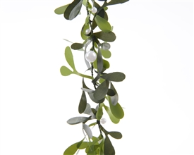2ply Mistletoe Garland with Beads 150cm