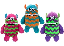 Plush Worry Monster 3 Assorted