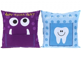 Boy Tooth Fairy Cushion 2 Assorted 30cm