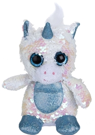 13cm Sequin Goshie Plush Colour Change Unicorn