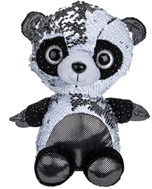 20cm Plush Goshie Sequin Colour Change Panda